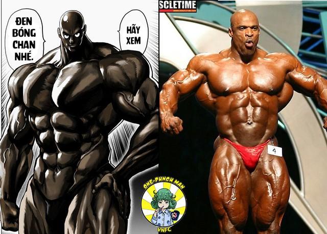 One Punch Man: Thân thế anh hùng Đen Bóng được hé lộ, lý do đầu trọc và làn da đen bóng là do thói quen - Ảnh 4.