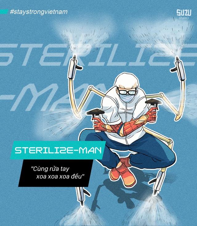 Ấn tượng với loạt tranh các bác sĩ Việt hóa thân thành anh hùng Marvel chống lại dịch bệnh - Ảnh 5.