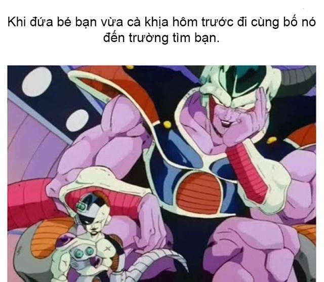 Dragon Ball: Giải khuây khi ở nhà tránh dịch với loạt meme về các nhân vật phản diện hài khó đỡ - Ảnh 6.