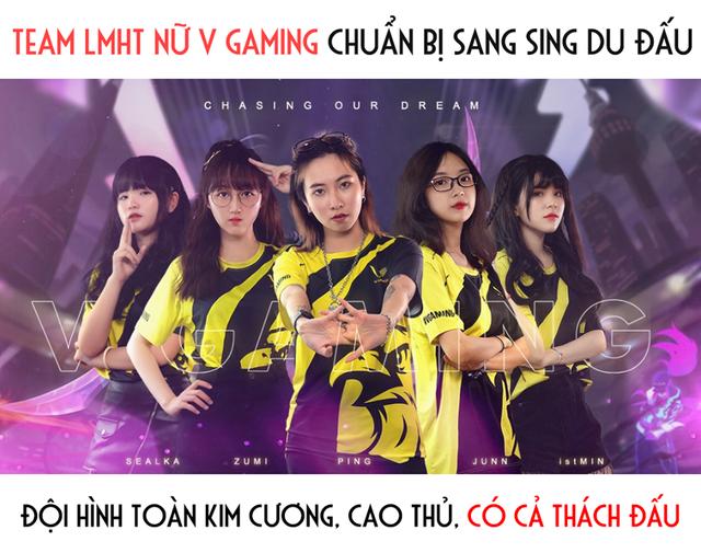 LMHT: Team nữ V Gaming tung trailer cực hoành tráng trước thềm giải đấu vô địch Đông Nam Á FSL 2020 tại Singapore - Ảnh 2.