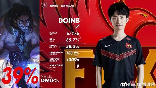 LMHT - Doinb ngỏ lời cảm ơn đồng đội: vì các bạn... chơi quá gà, em toàn phải gánh nên đành nhận MVP thôi - Ảnh 3.