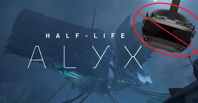 Tin vui cho game thủ nghèo, không cần kính VR vẫn có thể chơi Half-Life: Alyx - Ảnh 1.