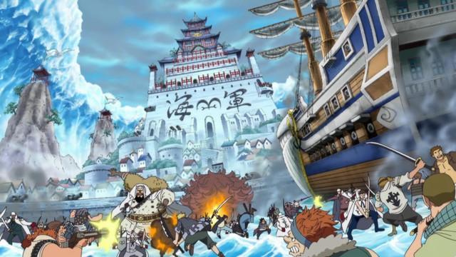Trùm cuối One Piece sẽ gọi tên ai? Râu Đen hay kẻ ngồi trên ngai vàng khiến Ngũ Lão Tinh cúi đầu - Ảnh 4.