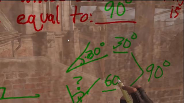 Học online sướng như game thủ khi được thầy giáo dùng hẳn Half-Life: Alyx để dạy toán - Ảnh 2.