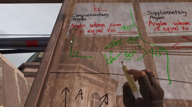 Học online sướng như game thủ khi được thầy giáo dùng hẳn Half-Life: Alyx để dạy toán - Ảnh 5.