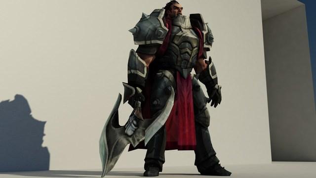 Fan cuồng tự chế chiếc rìu của Đại tướng Darius, trông thì đẹp đấy có điều... bổ củi cũng chẳng xong - Ảnh 2.