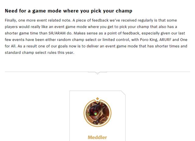 Lắng nghe game thủ, Riot Games sẽ tung chế độ chơi mới ngắn hơn, chọn tướng tự do và ra mắt năm nay? - Ảnh 3.