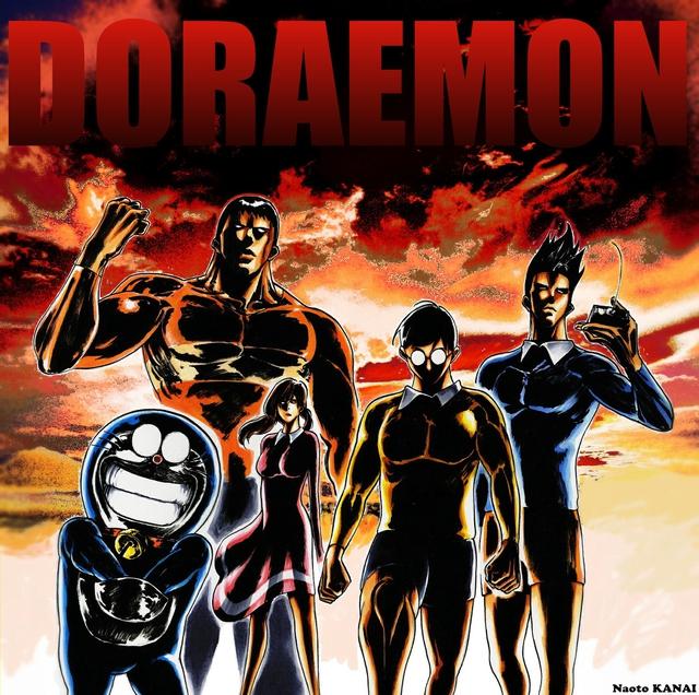 Loạt tranh siêu bựa về nhóm bạn Doraemon khiến ai xem cũng phải cười ngất - Ảnh 4.