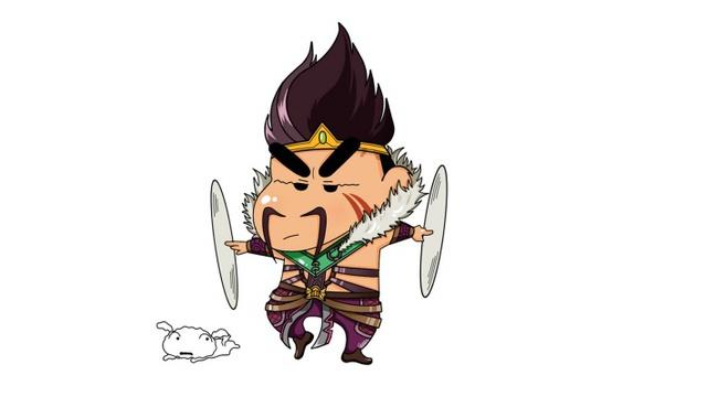Cười ngất với phiên bản cosplay LMHT của Shin Cậu Bé Bút Chì - Ảnh 3.