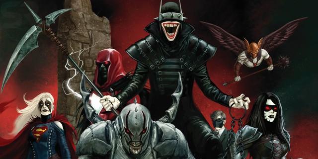 Batman Who Laughs khiến những siêu anh hùng DC như Shazam, Supergirl bị lây nhiễm năng lượng tối, biến họ thành những tay sai trung thành của hắn.