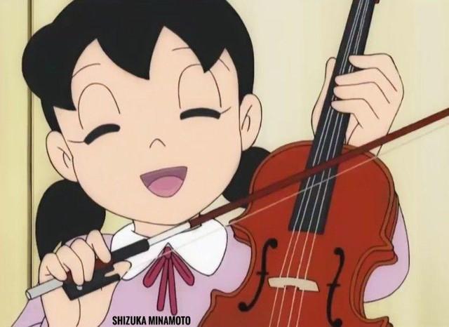 Kèo khó cho fan truyện tranh Doraemon: Giọng hát của Jaian hay tiếng đàn của Shizuka kinh khủng hơn? - Ảnh 4.