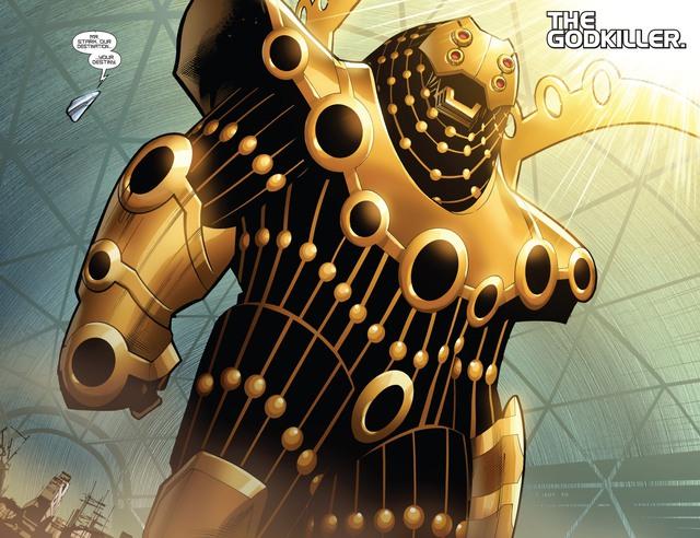 Là bộ giáp huyền thoại mạnh nhất vũ trụ Marvel, Godkiller Armor khủng cỡ nào? - Ảnh 1.