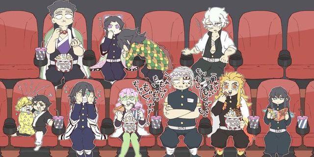 Kimetsu no Yaiba: Các trụ cột bị dìm thê thảm qua loạt ảnh chế cười té ghế - Ảnh 1.