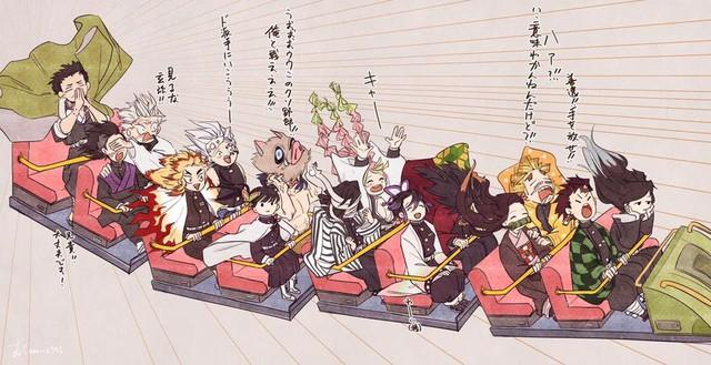 Kimetsu no Yaiba: Các trụ cột bị dìm thê thảm qua loạt ảnh chế cười té ghế - Ảnh 2.