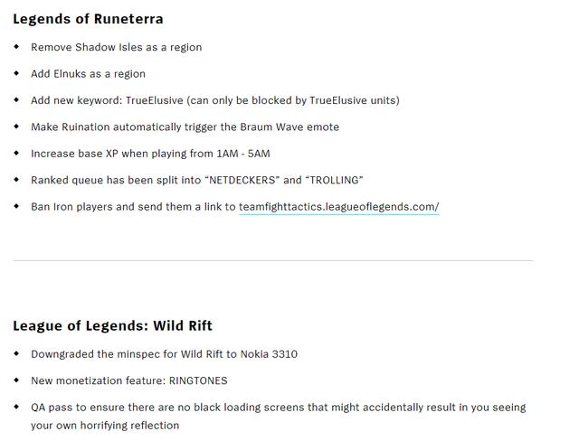 Update siêu lớn của Riot Games nhân ngày 1/4 - LMHT: Tốc Chiến có thể chơi trên Nokia cục gạch? - Ảnh 9.