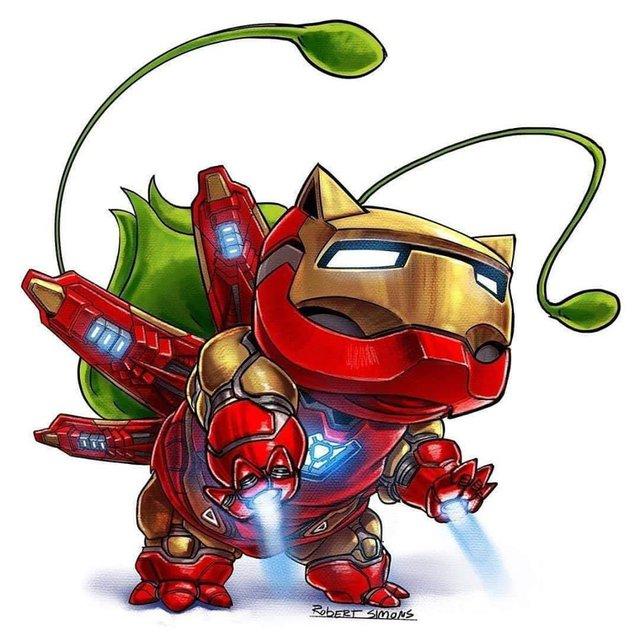 Siêu anh hùng Marvel biến thành Pokémon siêu dễ thương nhưng vẫn chất hơn nước cất - Ảnh 1.