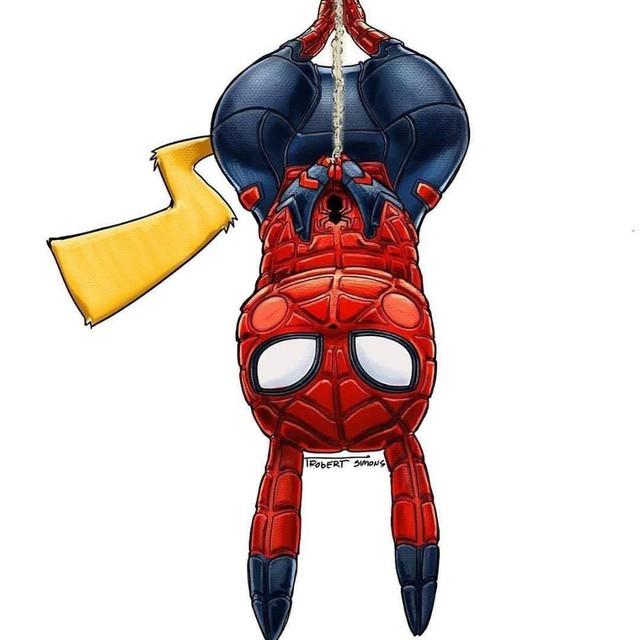 Siêu anh hùng Marvel biến thành Pokémon siêu dễ thương nhưng vẫn chất hơn nước cất - Ảnh 4.