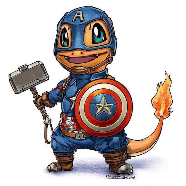 Siêu anh hùng Marvel biến thành Pokémon siêu dễ thương nhưng vẫn chất hơn nước cất - Ảnh 10.