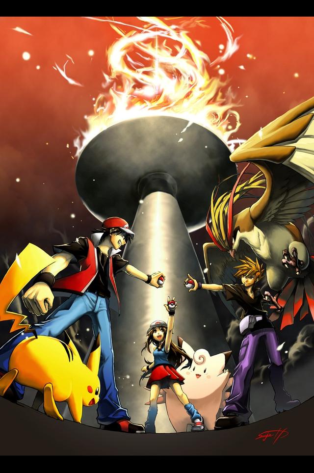 Loạt tranh vẽ Pokemon đầy ấn tượng của họa sĩ tài năng người Nhật - Ảnh 1.