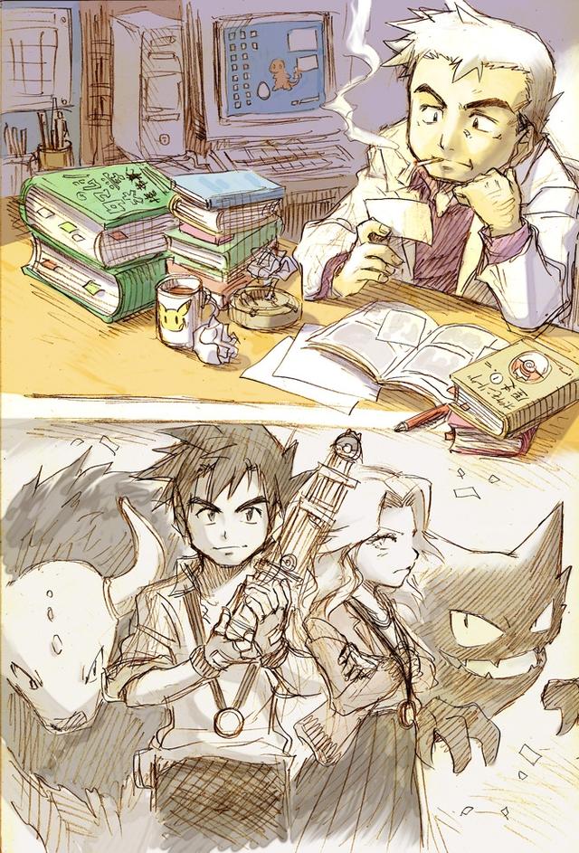 Loạt tranh vẽ Pokemon đầy ấn tượng của họa sĩ tài năng người Nhật - Ảnh 4.