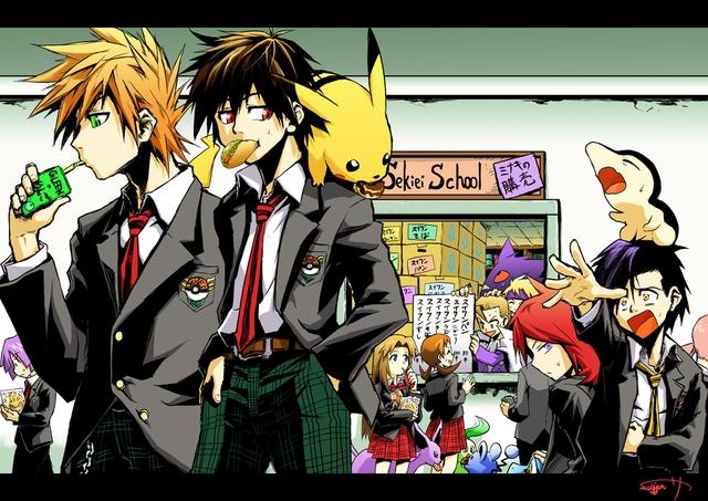 Loạt tranh vẽ Pokemon đầy ấn tượng của họa sĩ tài năng người Nhật - Ảnh 10.