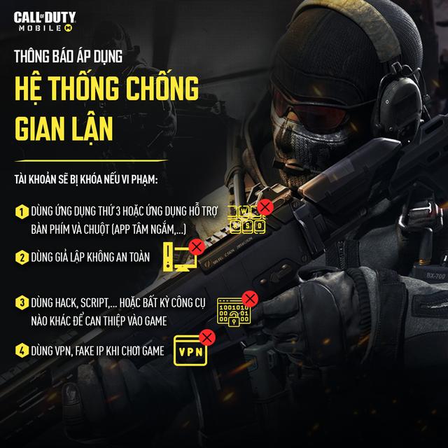 Đây là phản ứng game thủ khi biết các biện pháp chống hack của Call of Duty Mobile phiên bản Việt Nam - Ảnh 1.