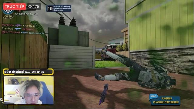 """Bé Chanh bị đối thủ cho ăn """"no hành"""" trong ngày đầu Alpha test Call of Duty: Mobile VN - Ảnh 2."""