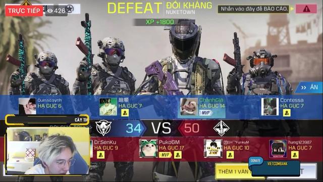 """Bé Chanh bị đối thủ cho ăn """"no hành"""" trong ngày đầu Alpha test Call of Duty: Mobile VN - Ảnh 5."""