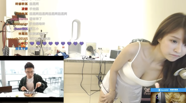 Kiểm tra xem camera tắt hay bật, nữ streamer vô tình dí sát vòng một vào ống kính, kênh chat được một phen bùng nổ - Ảnh 6.