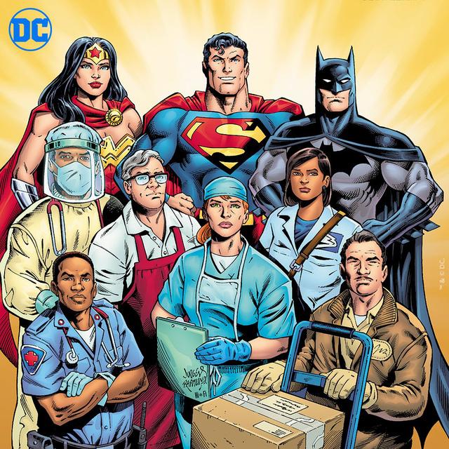 DC Comics tôn vinh các y bác sĩ là những siêu anh hùng thực thụ - Ảnh 1.