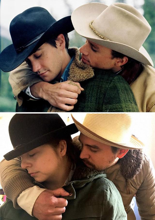 Thán phục cặp đôi cosplay lại các phân cảnh trong 20 bộ phim nổi tiếng giữa mùa cách ly - Ảnh 17.