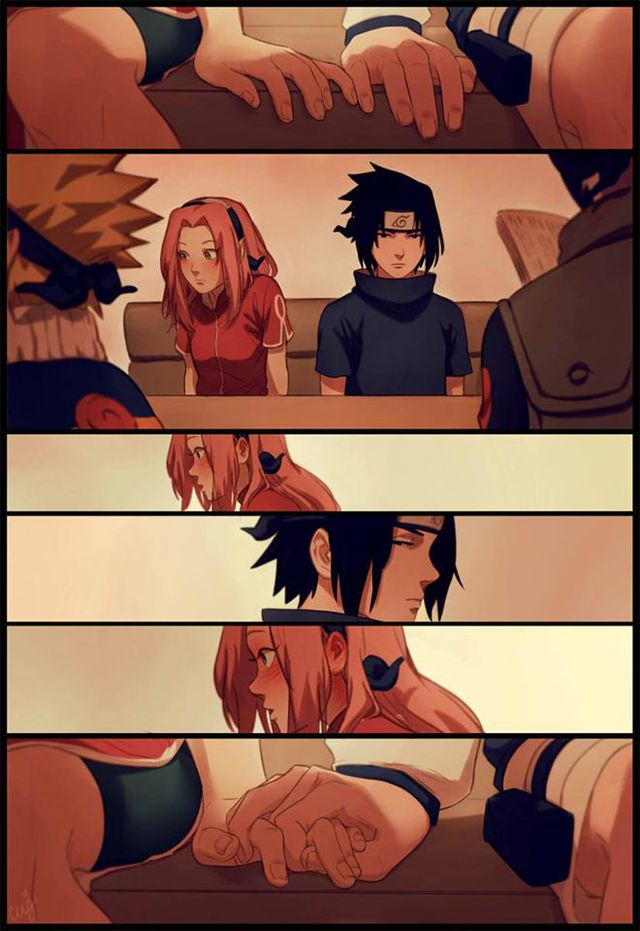 Naruto: Ngắm loạt fan art vợ chồng người ta tình bể bình mà chỉ biết ước - Ảnh 1.