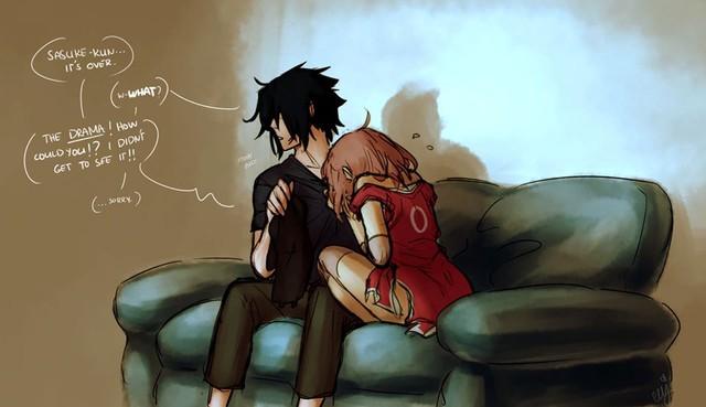 Naruto: Ngắm loạt fan art vợ chồng người ta tình bể bình mà chỉ biết ước - Ảnh 5.