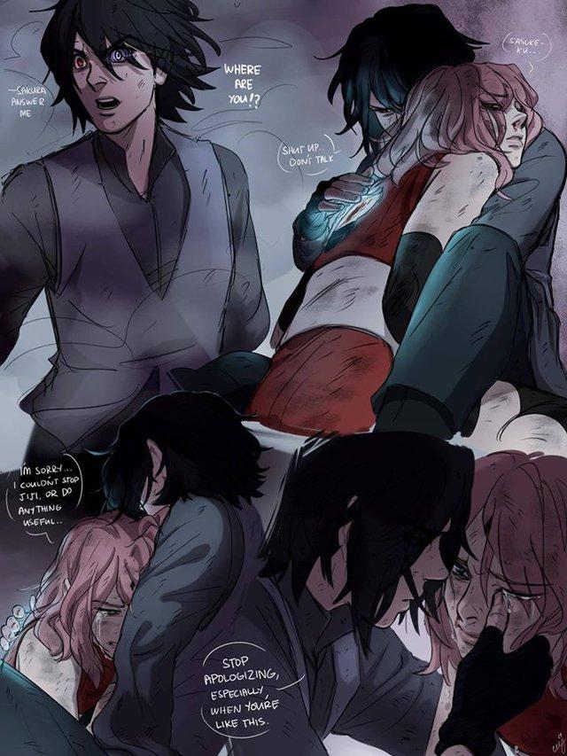Naruto: Ngắm loạt fan art vợ chồng người ta tình bể bình mà chỉ biết ước - Ảnh 10.