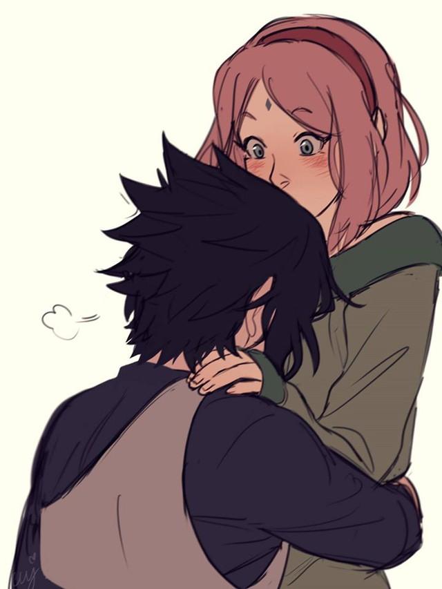 Naruto: Ngắm loạt fan art vợ chồng người ta tình bể bình mà chỉ biết ước - Ảnh 12.