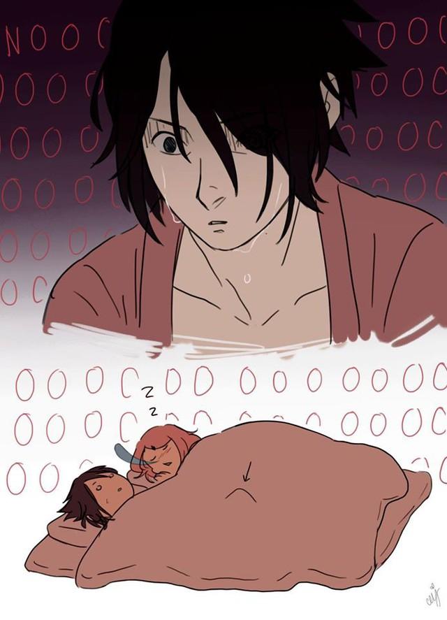 Naruto: Ngắm loạt fan art vợ chồng người ta tình bể bình mà chỉ biết ước - Ảnh 18.