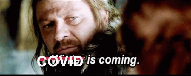 Chết cười với những meme về Covid-19 do fan tự chế từ chính những series phim họ đang cày dở - Ảnh 8.
