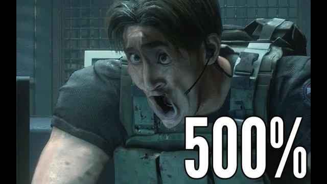 Chết cười với khuôn mặt các nhân vật trong Resident Evil 3 Remake sau khi được biến đổi - Ảnh 1.