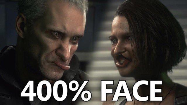 Chết cười với khuôn mặt các nhân vật trong Resident Evil 3 Remake sau khi được biến đổi - Ảnh 3.