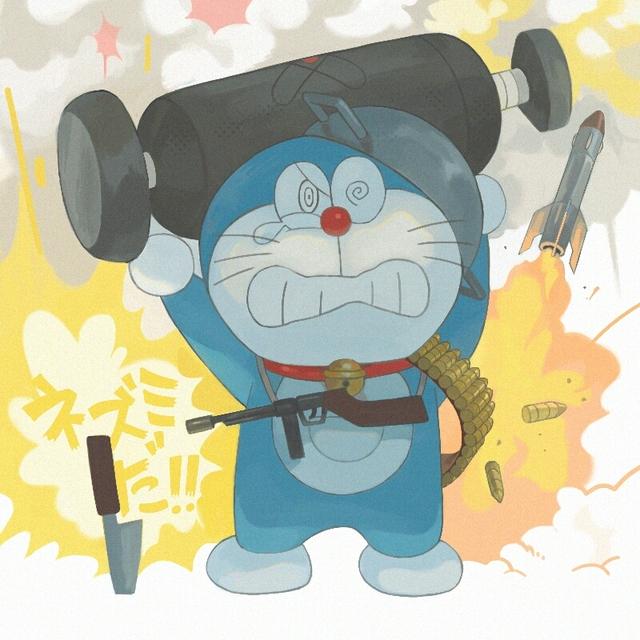 Bộ tranh hài cực bựa về mèo máy Doraemon được vẽ bởi fan hâm mộ Nhật Bản - Ảnh 6.