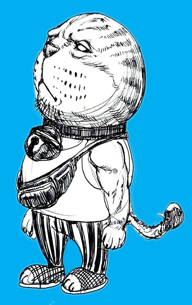 Bộ tranh hài cực bựa về mèo máy Doraemon được vẽ bởi fan hâm mộ Nhật Bản - Ảnh 10.