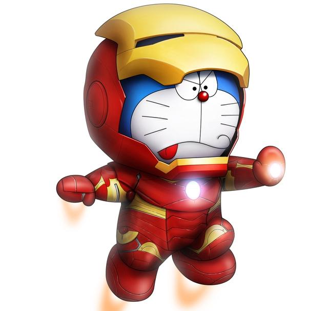 Bộ tranh hài cực bựa về mèo máy Doraemon được vẽ bởi fan hâm mộ Nhật Bản - Ảnh 9.
