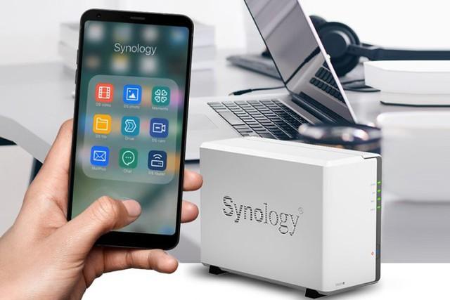 NAS Synology DS220j, cái tên sẽ khiến ổ cứng di động trở nên lỗi thời - Ảnh 1.