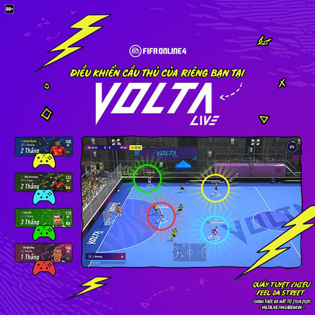 Chế độ MOBA bóng đá độc nhất vô nhị Volta Live sắp ra mắt trong FIFA Online 4 - Ảnh 3.