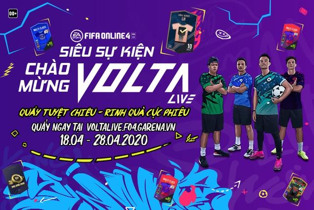 FIFA Online 4 hào phóng chưa từng có trước thềm ra mắt MOBA Bóng đá Volta Live - Ảnh 1.