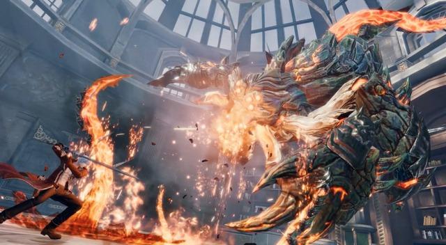 """Lộ hình ảnh ingame của Devil May Cry Mobile, đẹp không thua gì """"người anh em"""" trên PC - Ảnh 3."""