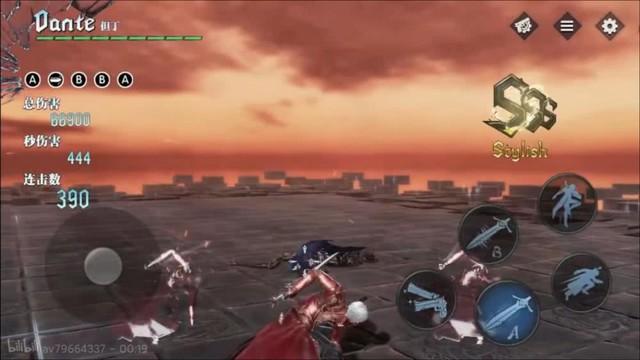 """Lộ hình ảnh ingame của Devil May Cry Mobile, đẹp không thua gì """"người anh em"""" trên PC - Ảnh 4."""