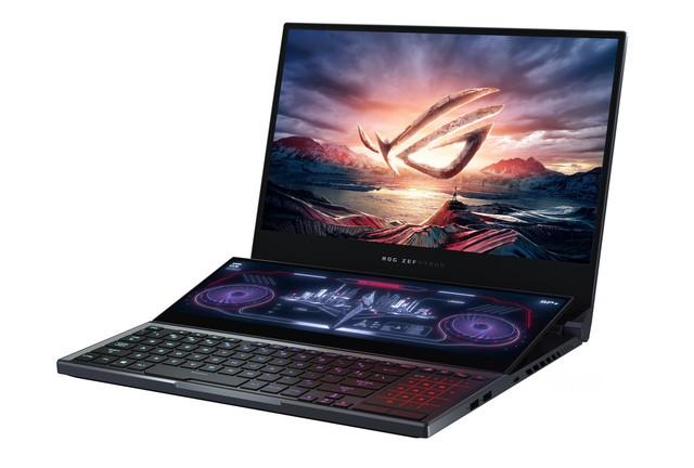 ASUS bất ngờ tung ra mẫu laptop gaming Zephyrus Duo 15: CPU Core i9, 32GB RAM, hai màn hình như trong phim viễn tưởng - Ảnh 1.