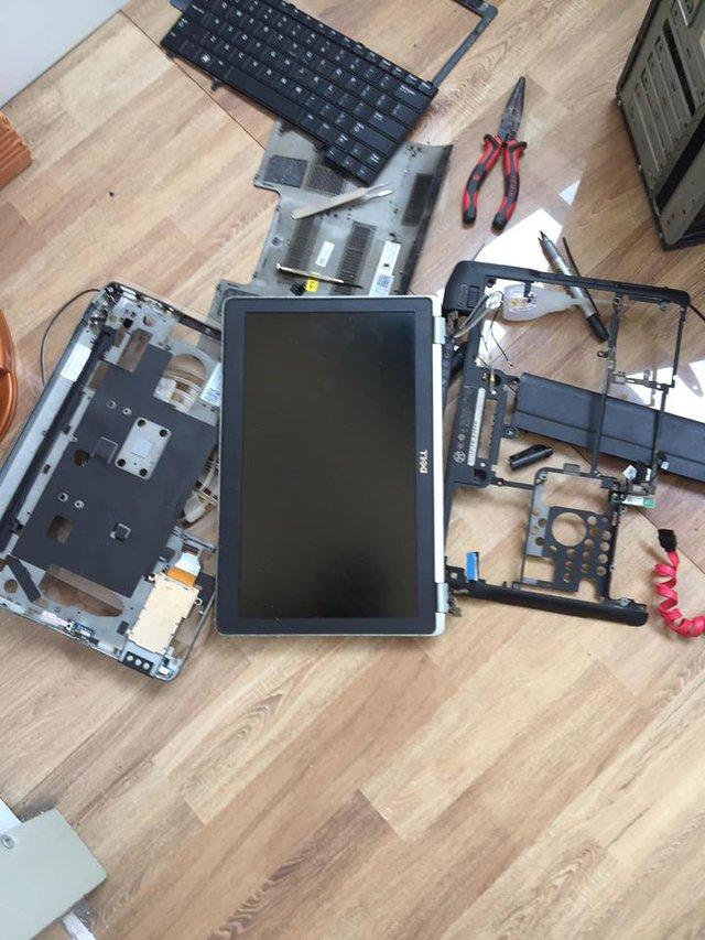 Rảnh rỗi ở nhà, game thủ Việt phá bung laptop rồi dựng thành một case PC mới - Ảnh 2.