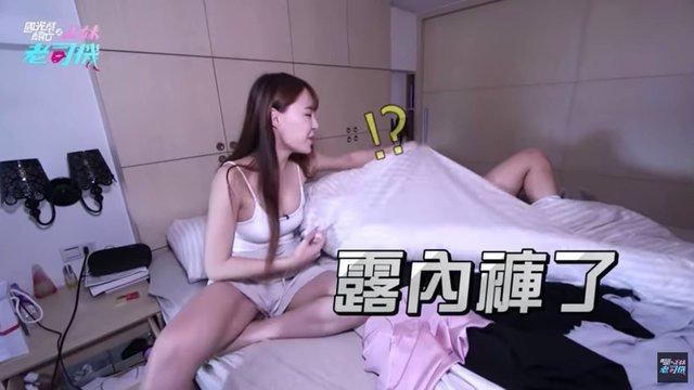 Bất ngờ bị đột kích vào nhà ngay sáng sớm, nàng Youtuber xinh đẹp hốt hoảng, không kịp trở tay thay quần áo - Ảnh 4.